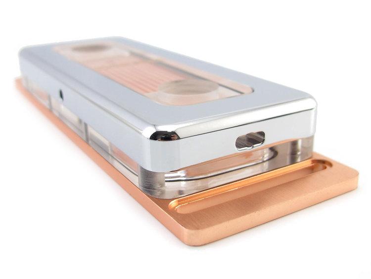 XSPC Neo Memory WaterBlock + Side Plate Set (Chrome)