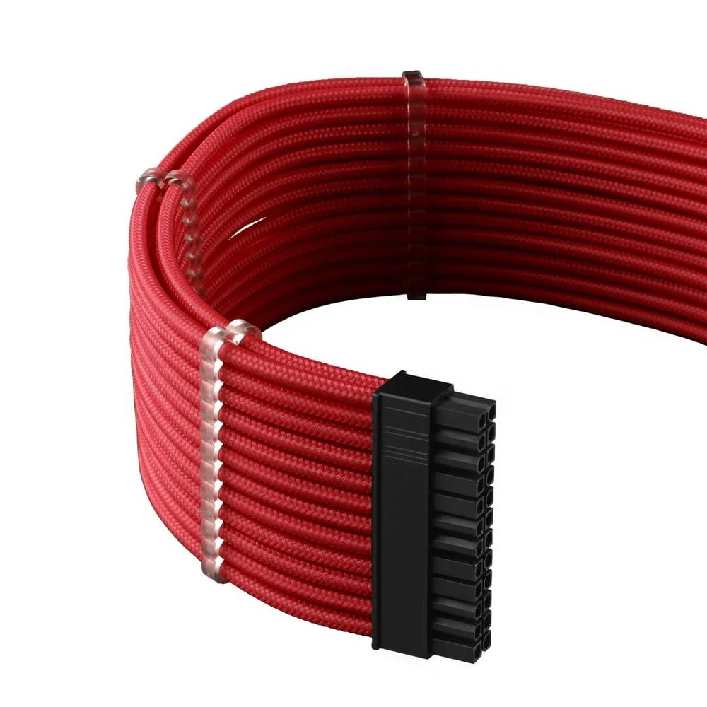 CableMod C-Series PRO ModMesh Cable Kit for Corsair AXi / HXi / RM (Yellow Label) - RED (CM-PCSI-FKIT-NKR-R)