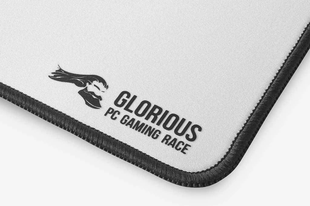 Glorious 3XL Extended Gaming Mousepad - White Edition (並行輸入品)