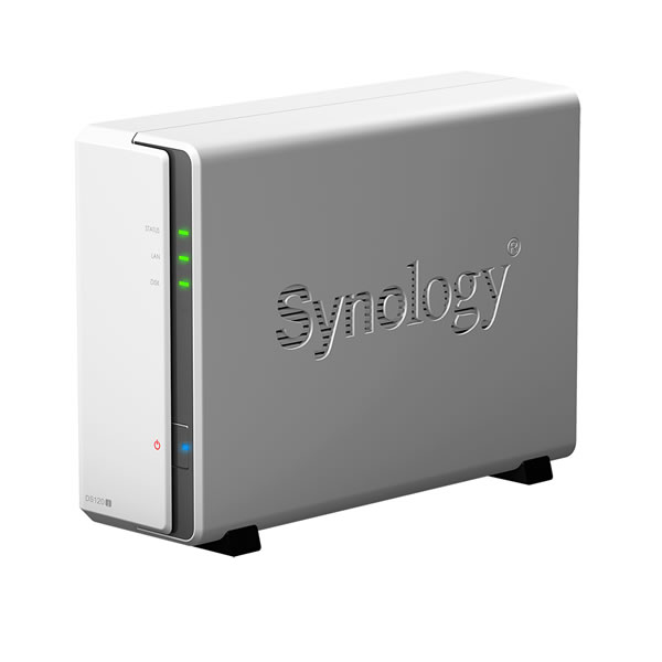 Synology DiskStation DS120j 3.5インチHDD1台搭載可能