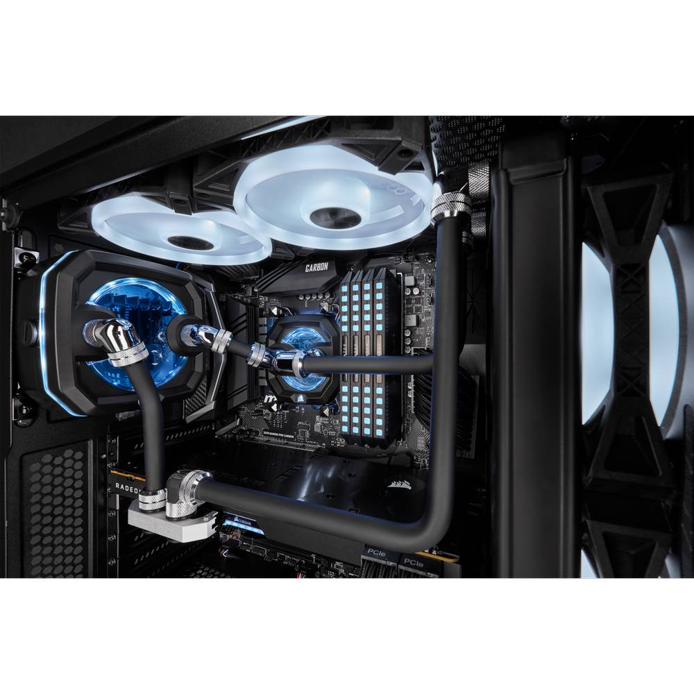 CORSAIR Hydro X Series XT Hardline 14mm Tubing - Satin Black