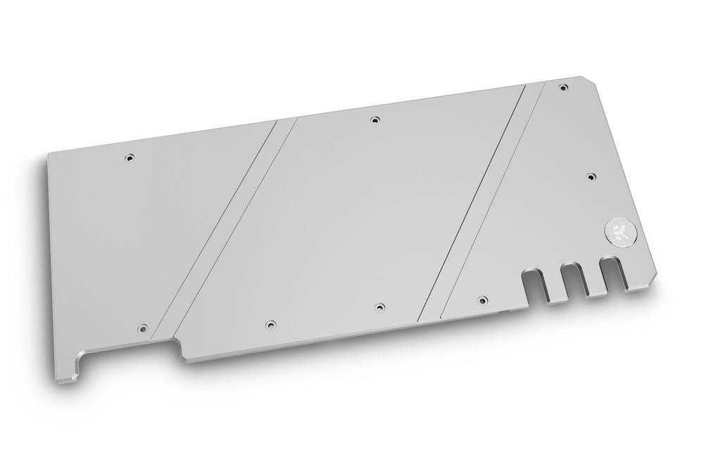 EK WaterBlocks EK-Quantum Vector Trio RTX 3080/3090 Backplate - Nickel