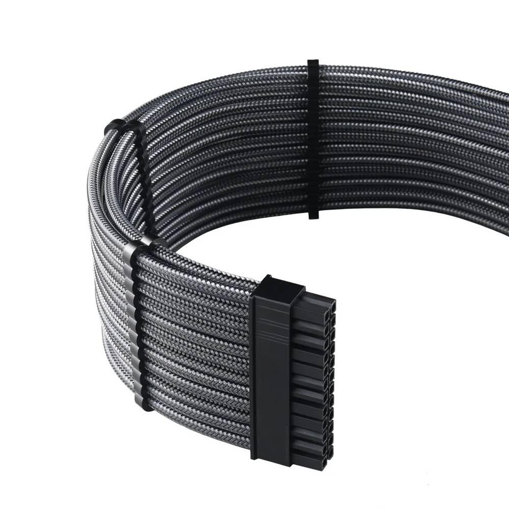 CableMod C-Series PRO ModMesh Cable Kit for Corsair RMi / RMx / RM (Black Label) - CARBON (CM-PCSR-FKIT-NKC-R)