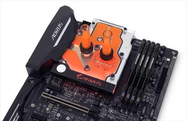 EK Water Blocks EK-FB GA AX370 Gaming RGB Monoblock - Nickel