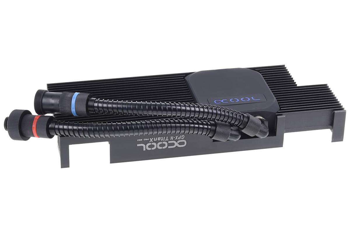 Alphacool Eiswolf GPX Pro - Nvidia Geforce GTX TITAN X Pascal / 1080 Ti M02 - incl. backplate