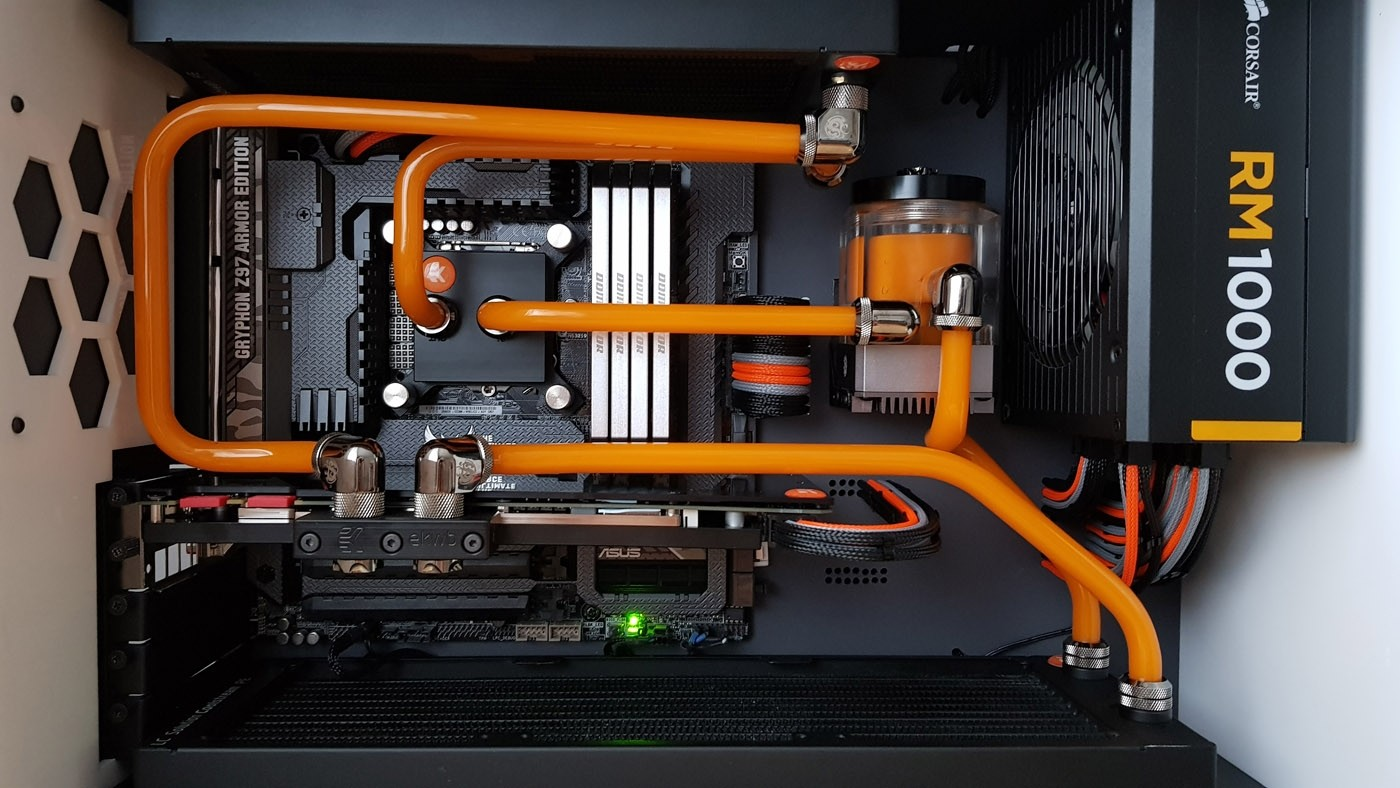 EK Water Blocks EK-CryoFuel Solid Fire Orange  (Conc. 250mL)
