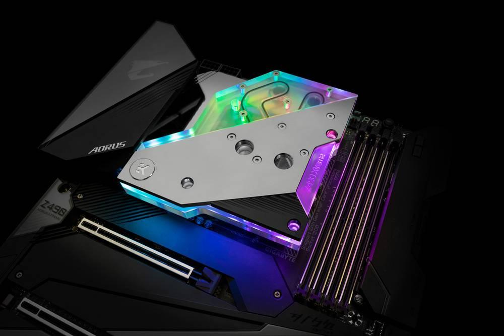 EK WaterBlocks EK-Quantum Momentum Aorus Z490 Xtreme D-RGB - Plexi
