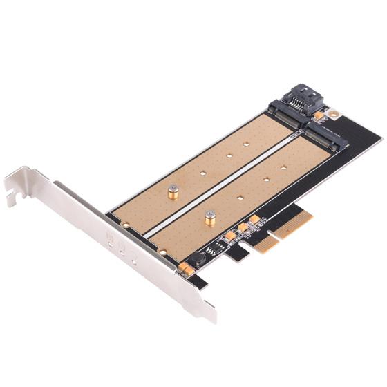 SilverStone ECM22 M.2 SSD用 PCI-E x4 接続拡張カード SST-ECM22