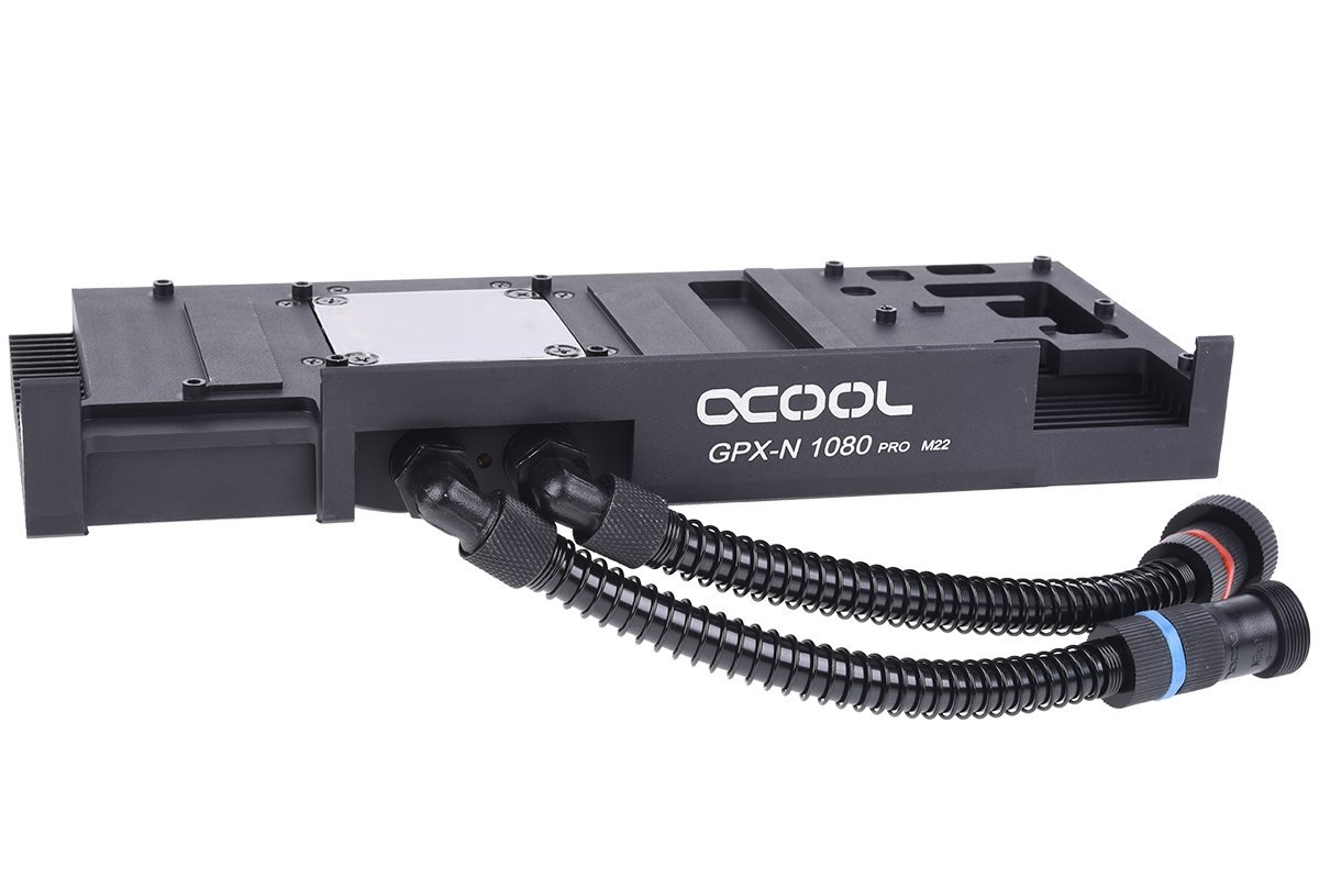 Alphacool Eiswolf GPX Pro - Nvidia Geforce GTX 1080Ti Pro M22 - incl. backplate