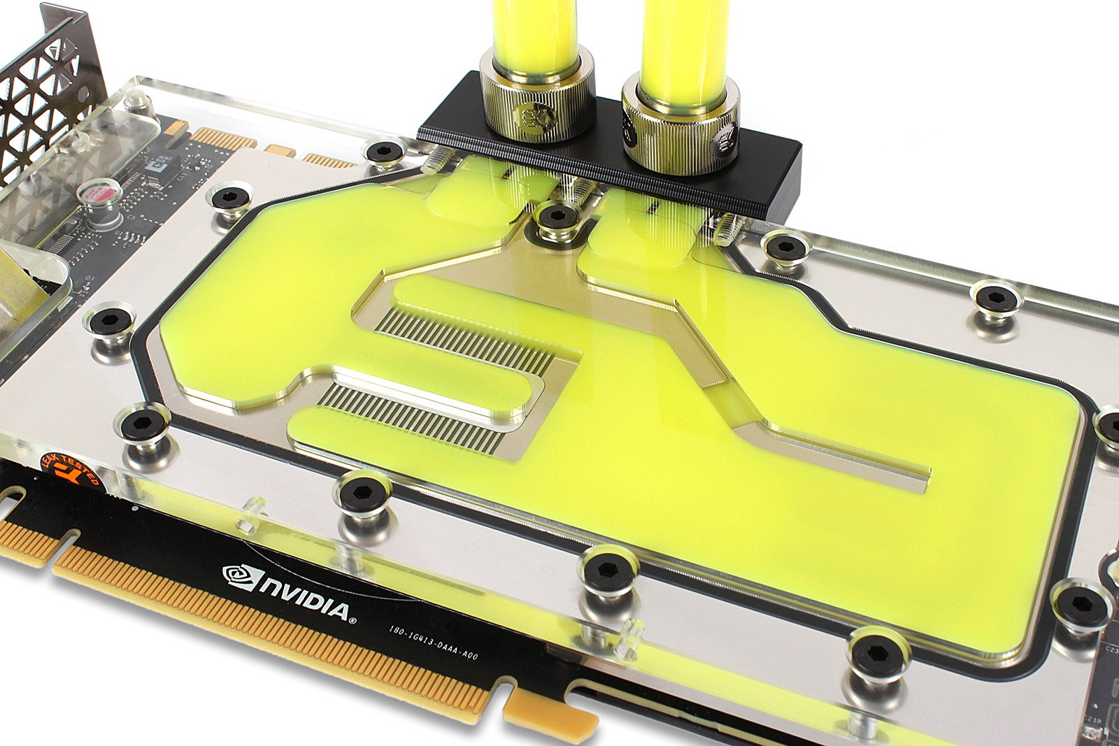 EK Water Blocks EK-CryoFuel Solid Laguna Yellow (Conc. 250mL)