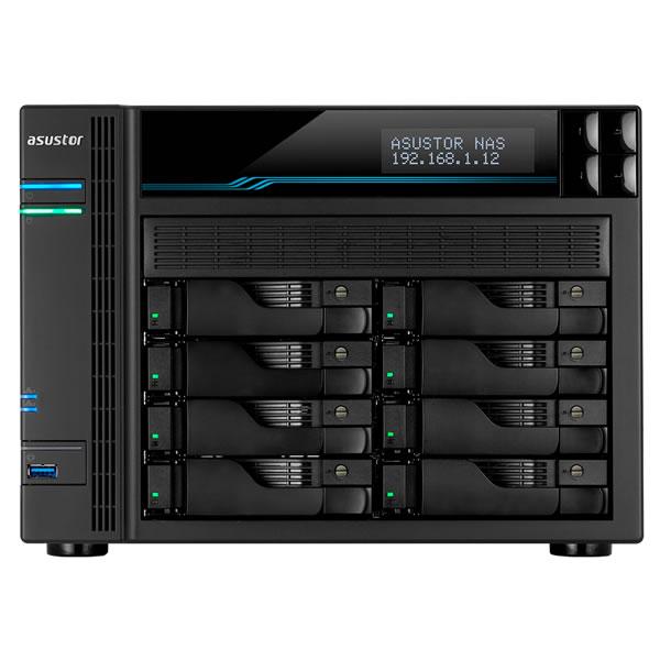 ASUSTOR AS6508T 2.5/3.5インチ HDD 8台搭載可能 LOCKERSTOR 8