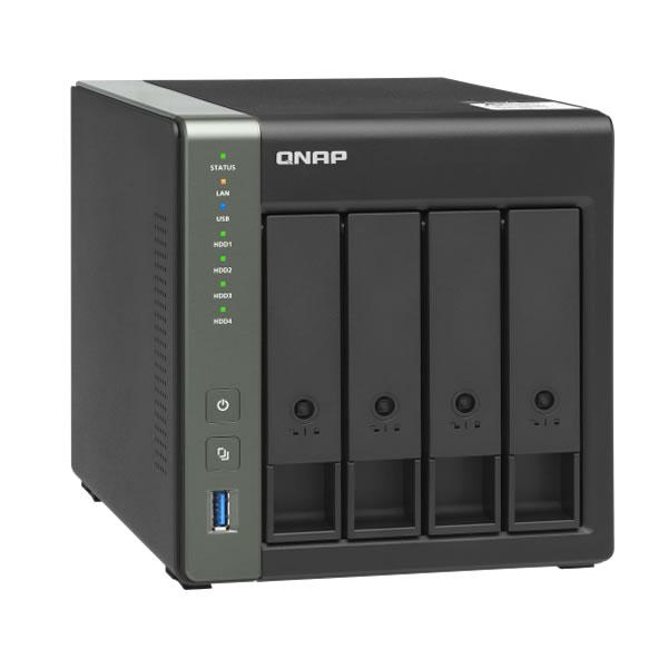 QNAP TS-431X3 2.5/3.5インチHDD 4台搭載可能 10GbE/2.5GbE
