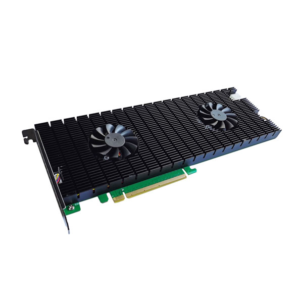 HighPoint SSD7140 NVMe M.2 SSD ブート可能 RAID コントローラー