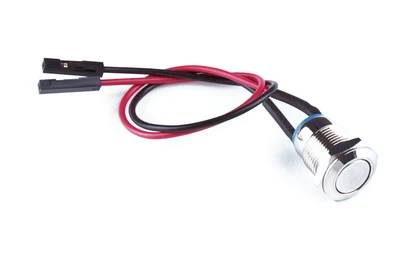 KKSB 12mm Push Button Momentary Power Switch 2.54mm DuPont Connectors 150mm Wires