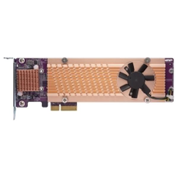 QNAP QM2-4S-240 クアッドM.2 22110/2280 SATA SSD拡張カード