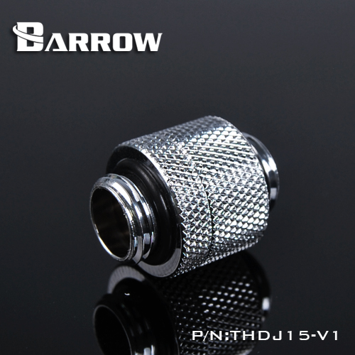 BARROW Minor Adjustment Set - 15mm(Male To Male) Shiny silver