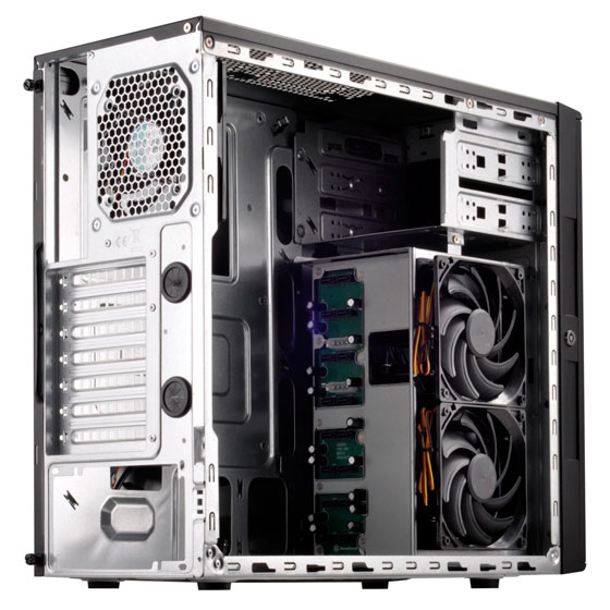 【お取り寄せ商品】SilverStone CS380 (SST-CS380B)