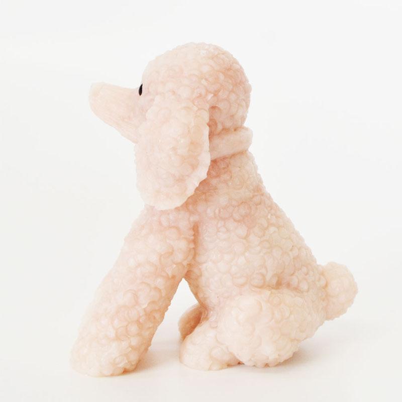 ピンクオパール<br>彫刻/置物<br>犬/風水<br>恋愛/子宝繁栄<br>石ランク/★★★★★