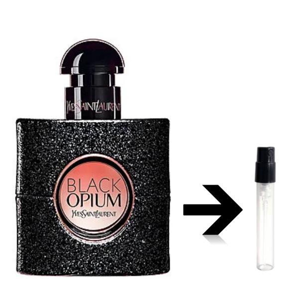 ブラックオピウム オードパルファム イヴサンローラン YSL アトマイザー 量り売り 小分け プレゼント 香水
