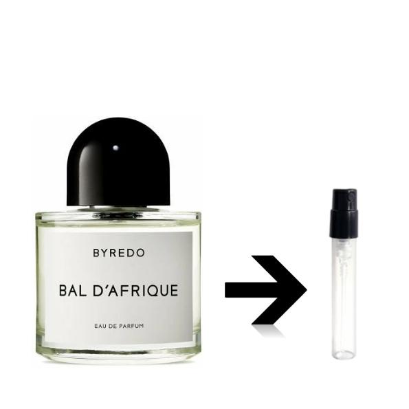 バル ダフリック オードパルファム バレード バイレード BYREDO  BAL D' AFRIQUE アトマイザー 量り売り プレゼント 香水 お試し