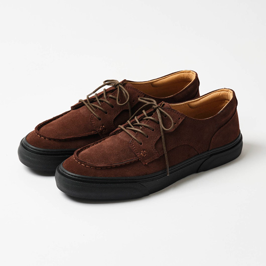 KLAVE U-TIP (BROWN NUBUCK /BLACK)