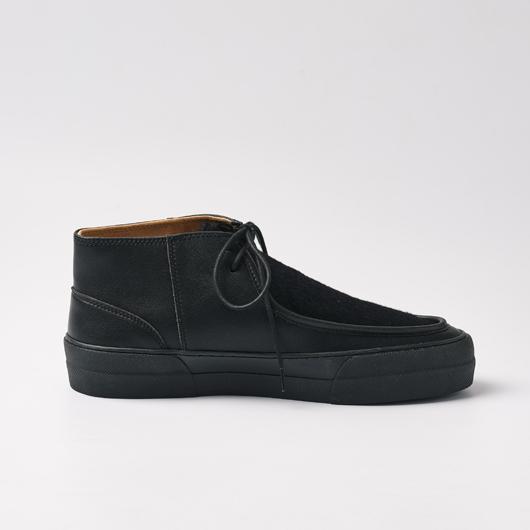 LUMOA (BLACK/BLACK FUR/BLACK)