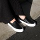 [WOMENS] CALMER LX PLATFORM (BLACK/WHITE)
