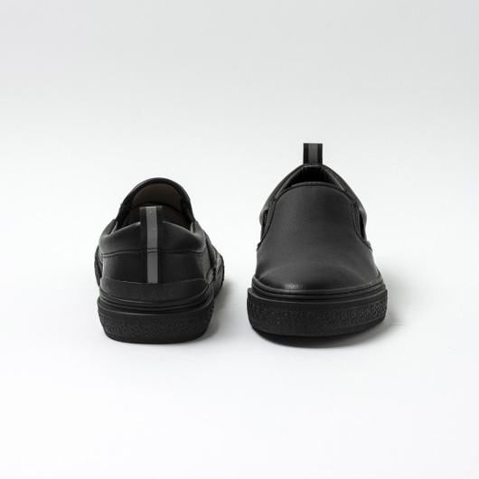 CALMER LX (SLIP-ON) (BLACK/BLACK)