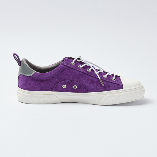 CLUDE PREMIUM SUEDE (PURPLE/WHITE)