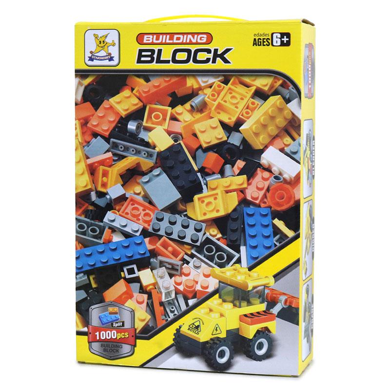 【当店オリジナル商品】1000ピース BUILDING BLOCK 黄色