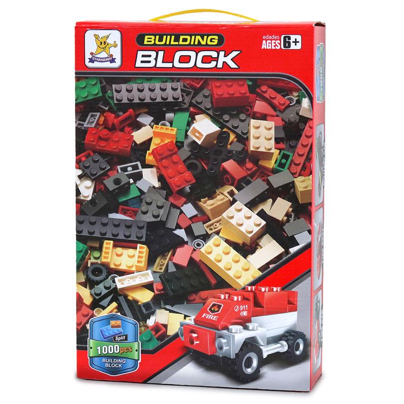1000ピース ブロック  BUILDING BLOCK 赤色
