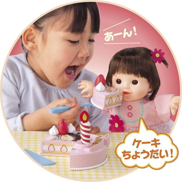 ぽぽちゃん いっしょに「フー! 」しよ! おしゃべりケーキ