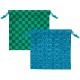 子供会 景品 和柄カラフル巾着袋(32個セット)