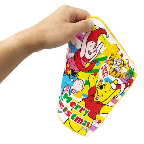 ディズニークリスマスミニタオル(24個セット) 1個あたり税別37円