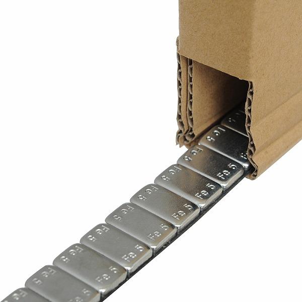 アルミホイール用 鉄製 薄型 貼付けウエイト ロールタイプ 5kg(箱入り)