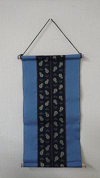 畳屋さんの畳ヘリ小物3点セット① (花柄バッグ・タペストリー・ミニ畳)