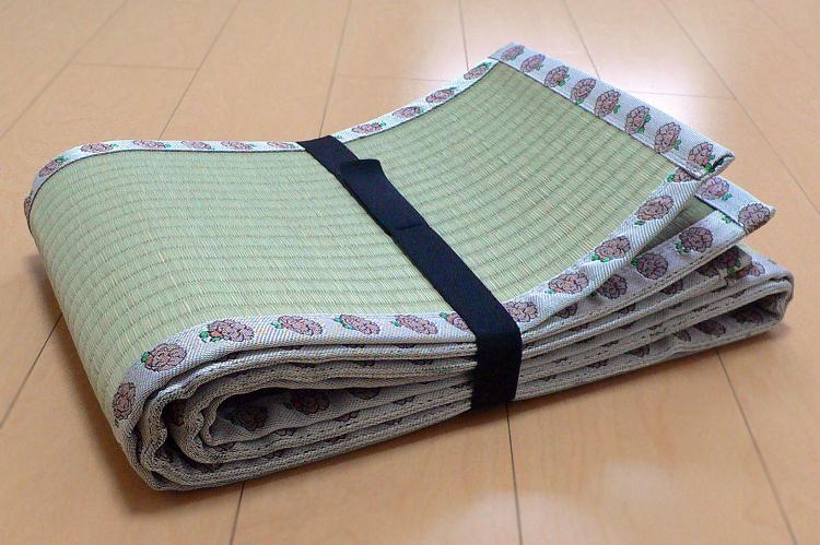 畳屋さんが作った!天然い草コンパクト1800(おむらんちゃん縁)