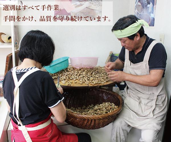 【送料無料】塩ゆで落花生&大粒煎りピーナツ詰合せ