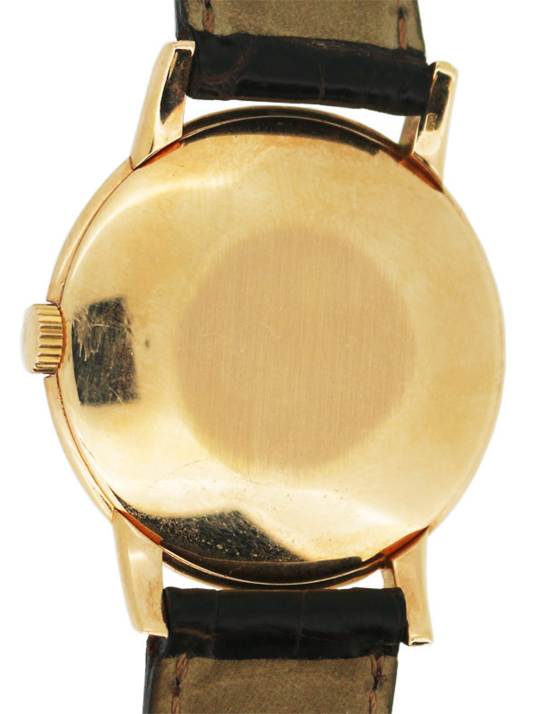 PATEK PHILIPPE 18K.ピンクゴールドラウンド「カラトラバ」紳士用手巻き アーカイブ付き
