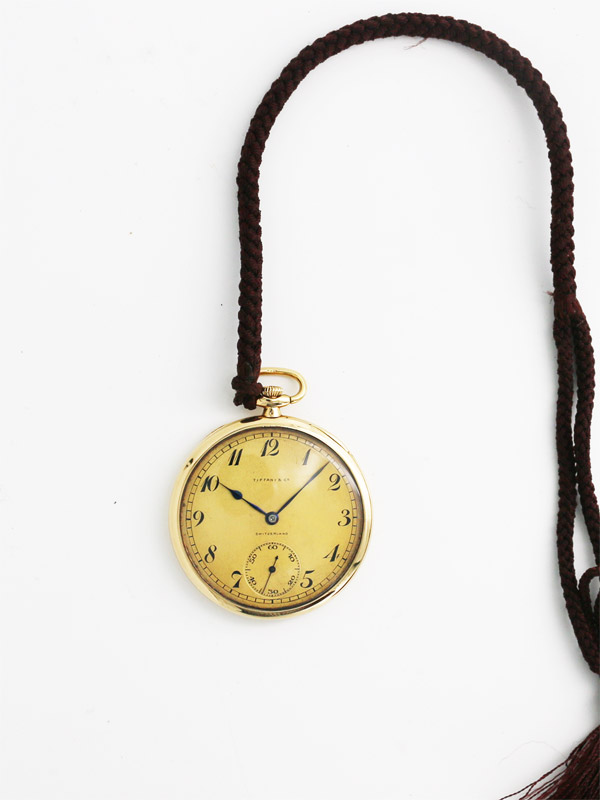 TIFFANY & Co./PATEK PHILIPPE 18K.懐中時計
