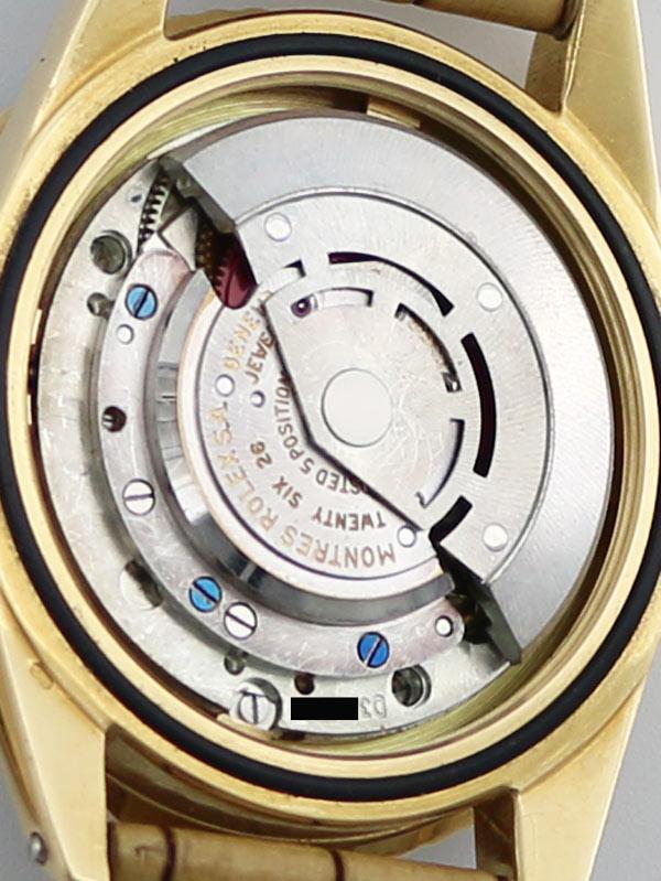 ROLEX 18Kオイスタ−パ−ペチュアル 「GMT−MASTER」ノンクラウンガ−ド ブラウンカメレオンアイダイヤル