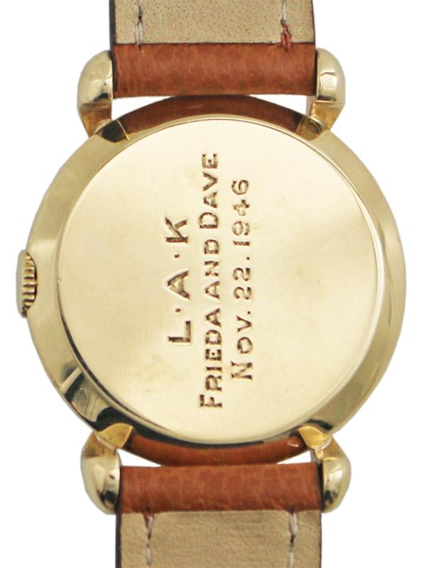 TIFFANY & Co./International Watch Co.14K.ラウンドケース手巻き
