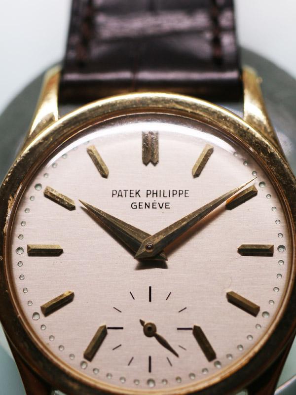 PATEK PHILIPPE 18K.ラウンドケース「Calatrava」ANTI−MAGNETIC
