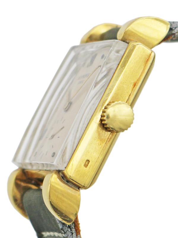 PATEK PHILIPPE &Co.18Kスクエアケース 紳士用手巻き BOX ベルト アーカイブ付き