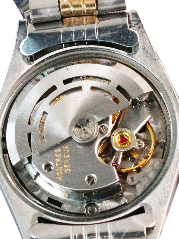 ROLEX SS/14Kオイスタ−パ−ペチュアル「DATE」 婦人用自動巻きブロンズダイヤル