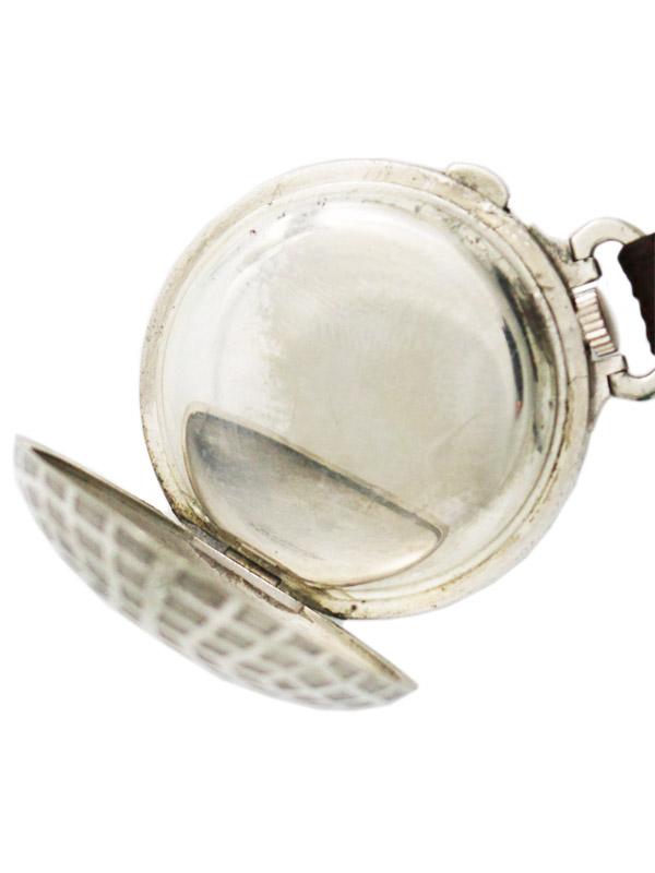 DUNHILL/DUNLOP ニッケルメタルゴルフボール型携帯時計