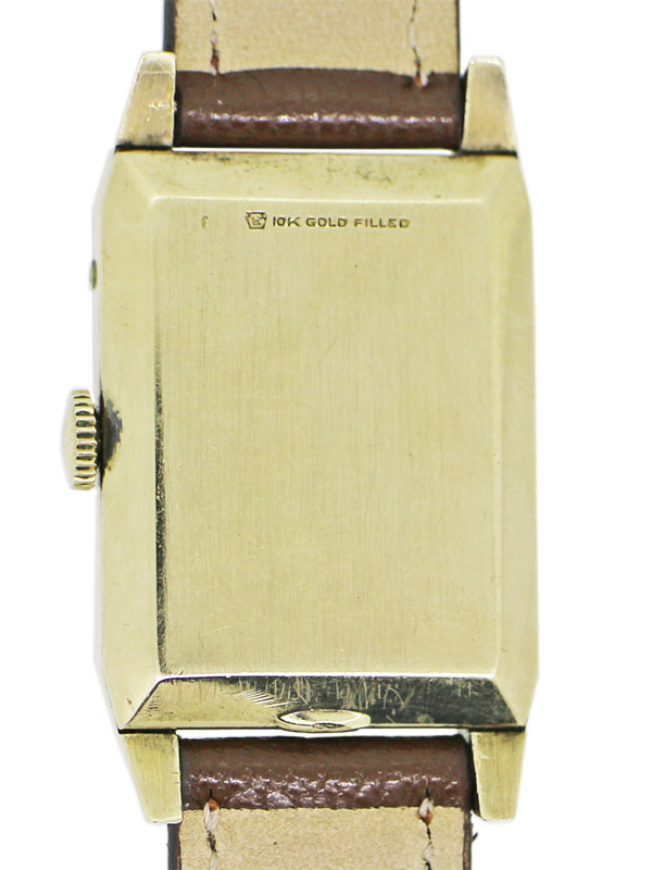 LeCoultre 10K.G.F .レクタングラーケース「トリプルムーンカレンダー」ジャック・ダウ゛ィド・ルクルト記念モデル