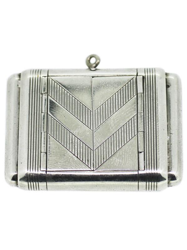 A.DUNHILL/TAVANNES 925 Silver 「La Captive」トラベルパースウォッチ
