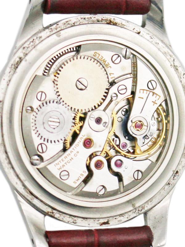 International Watch Co. SSスナップバックラウンドケース 紳士用手巻き