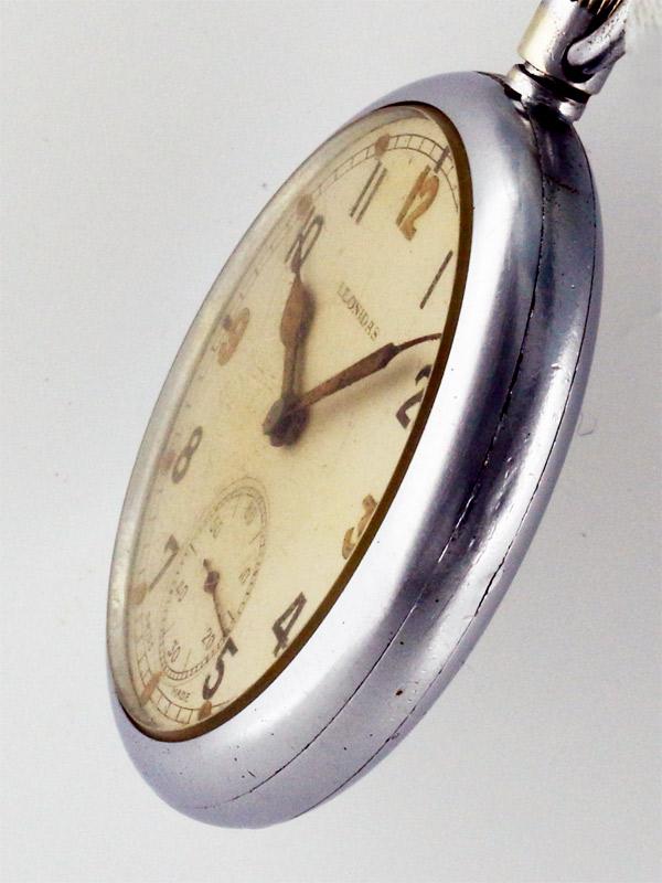 LEONIDAS SS 英国軍用ミリタリー懐中時計